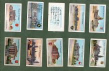 CollectableTobacco cigarette cards set Houses of Parliament  1914 ,